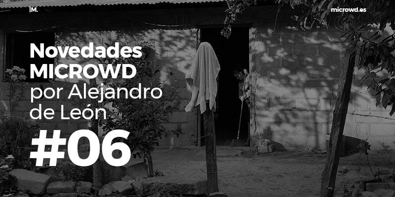 Novedades MICROWD por Alejandro de León #6