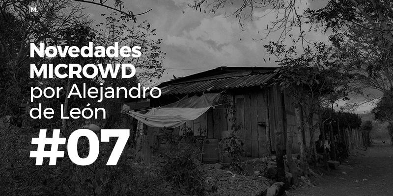 Novedades MICROWD por Alejandro de León #08