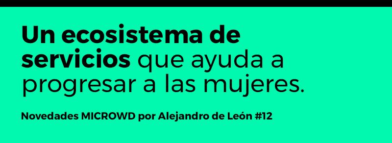 Novedades MICROWD por Alejandro de León