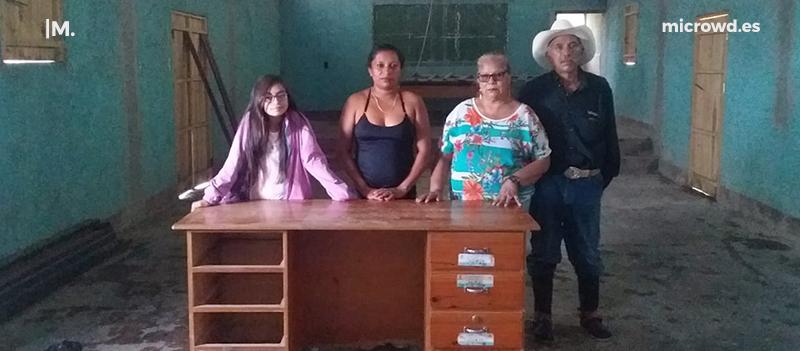 Encargados del hospedaje en Las Sabanas
