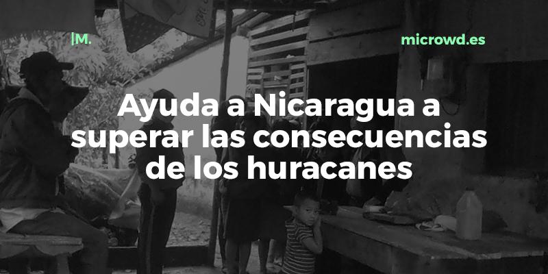 Huracanes en Nicaragua